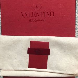 Valentino box and dust bag w care card